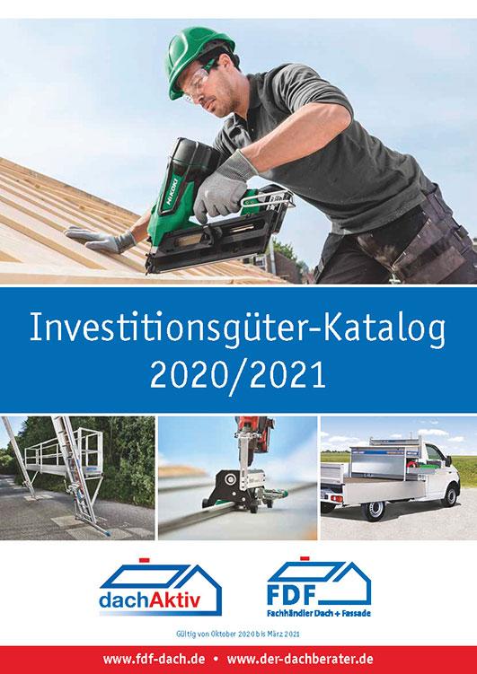 Deckblatt des Investitionsgüter-Katalogs 2020/2021